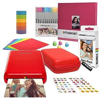 Amazon.com: Polaroid Zip - Kit de álbumes de recortes con ...