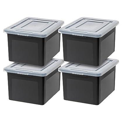 Amazon.com: IRIS USA, Inc. R FB 21E Letter and Legal Size File Box