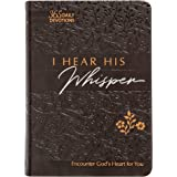 I Hear His Whisper: Encounter God's Heart for You, 365 Daily Devotions (The Passion Translation) (Imitation Leather) – Daily