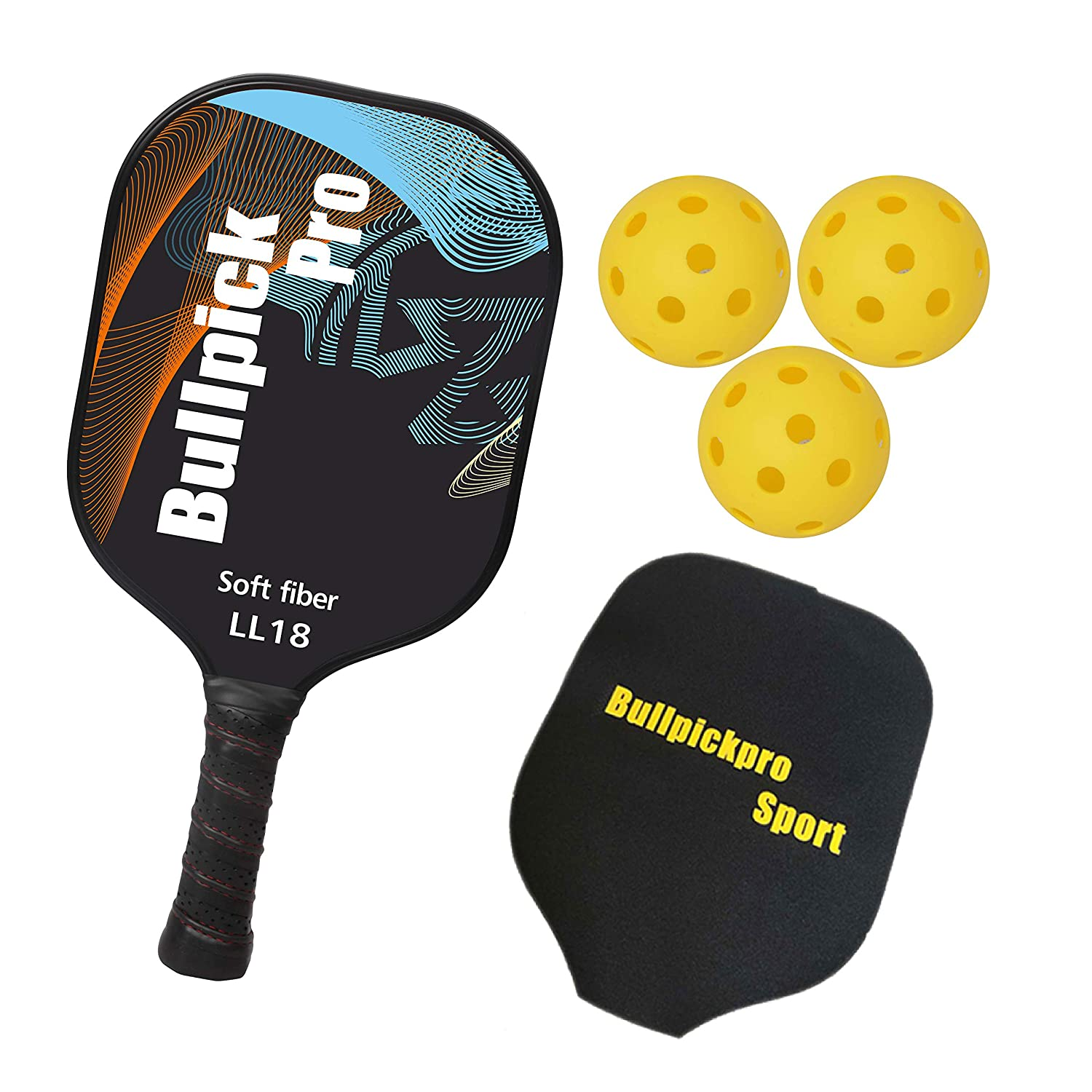 Bullpickpro Pickleball Paddle Set