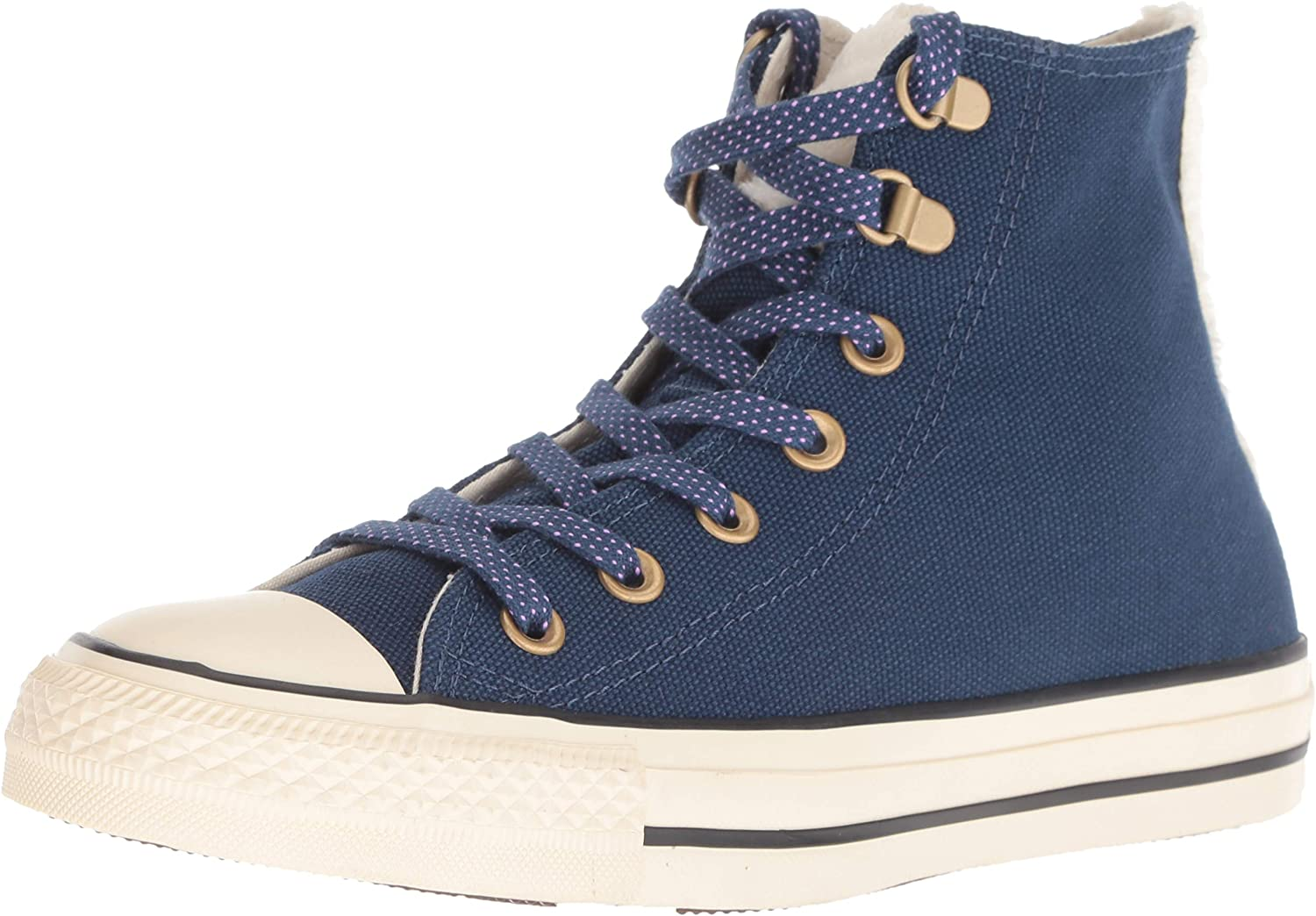 Amazon Com Converse Women S Chuck Taylor All Star Faux Fur High Top Sneaker Fashion Sneakers