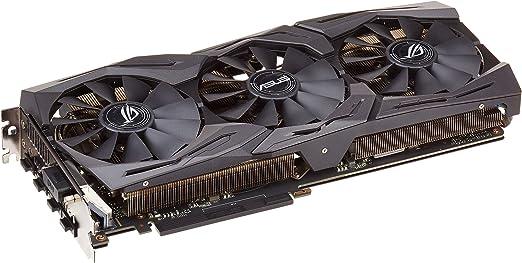 ASUS GeForce GTX 1060 6GB ROG Strix OC Edition VR Ready HDMI 2.0 DP 1.4 Graphic Card (STRIX-GTX1060-O6G-GAMING)