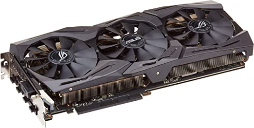 Amazon.com: ASUS GeForce GTX 1060 6GB ROG Strix OC Edition VR Ready HDMI 2.0 DP 1.4 Graphic Card (STRIX-GTX1060-O6G-GAMING): Computers & Accessories