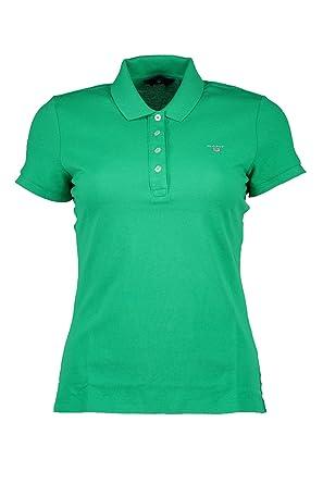 Gant The Original Pique, Polo para Mujer, Grün (Jelly Green) S ...