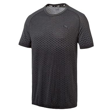 453e00500d Puma Men's Evostripe Evoknit Tee T Shirt: Amazon.co.uk: Clothing