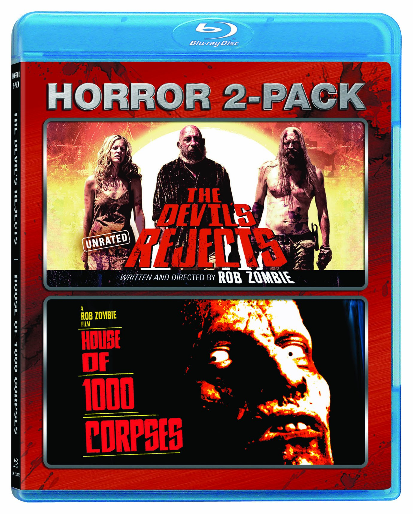 The Devil's Rejects / House Of 1000 Corpses (Horror Two-Pack) [Blu-Ray] 2