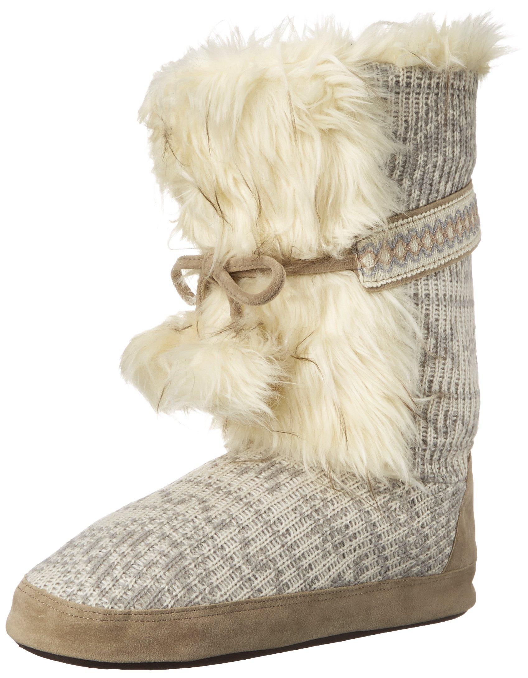 Muk Luks Women's Jewel Winter White Slouch Boot