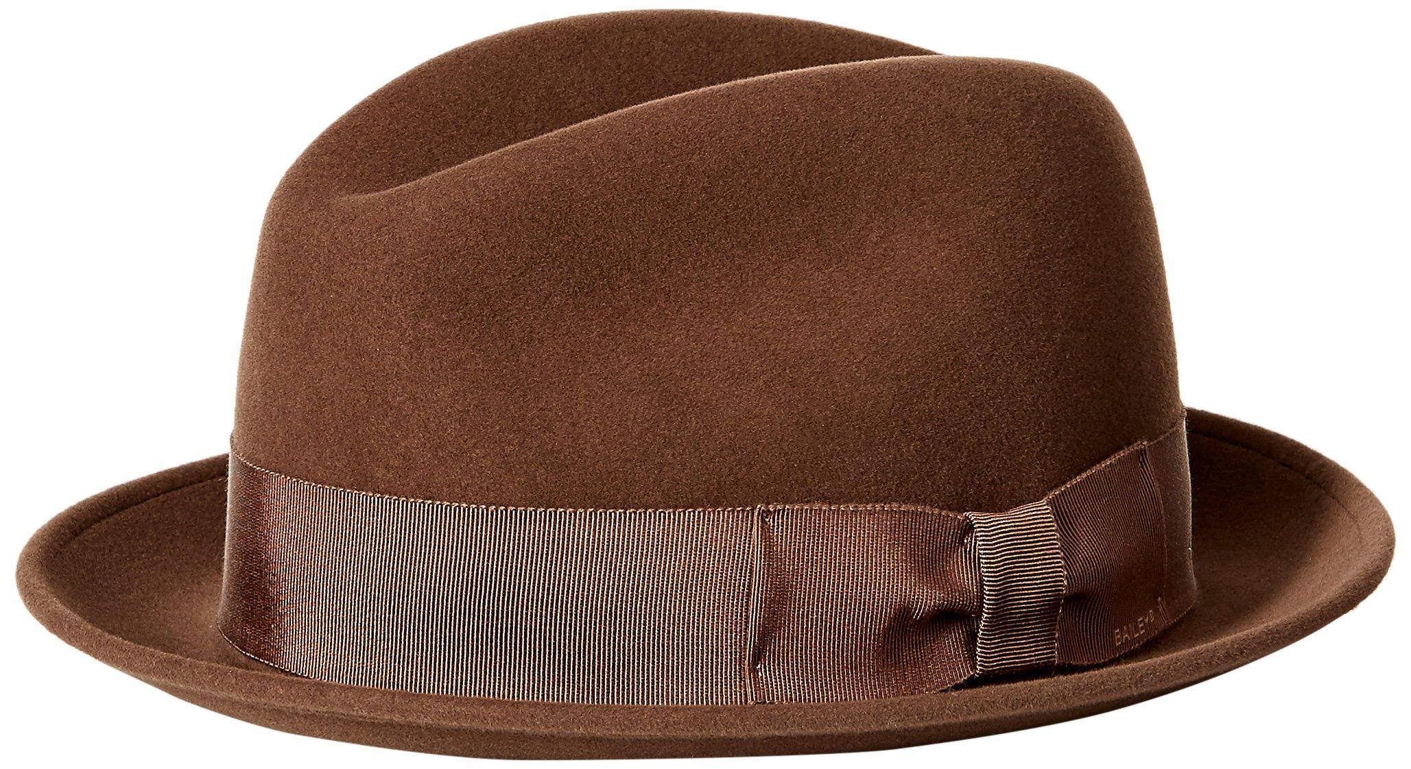Bailey of Hollywood Men's Bogan Hat, Saddle, XL