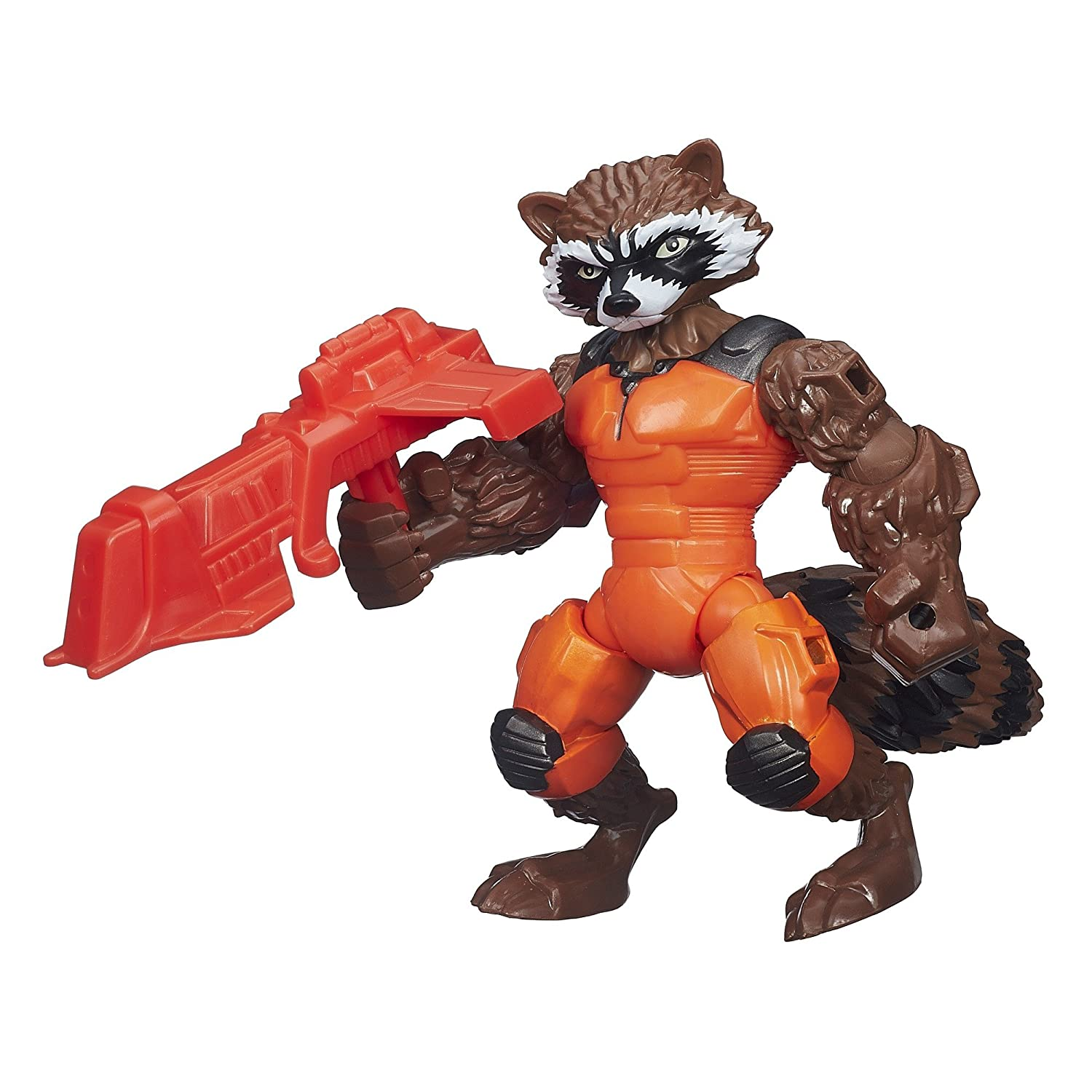 Rocket Raccoon  Marvel Super Hero Mashers Electronic Iron Man Figure