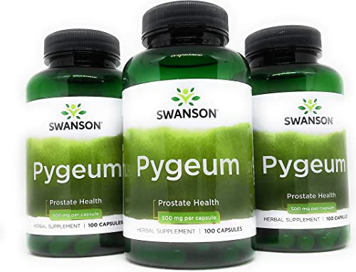 Pygeum 500 mg 100 Caps by Swanson Premium 3
