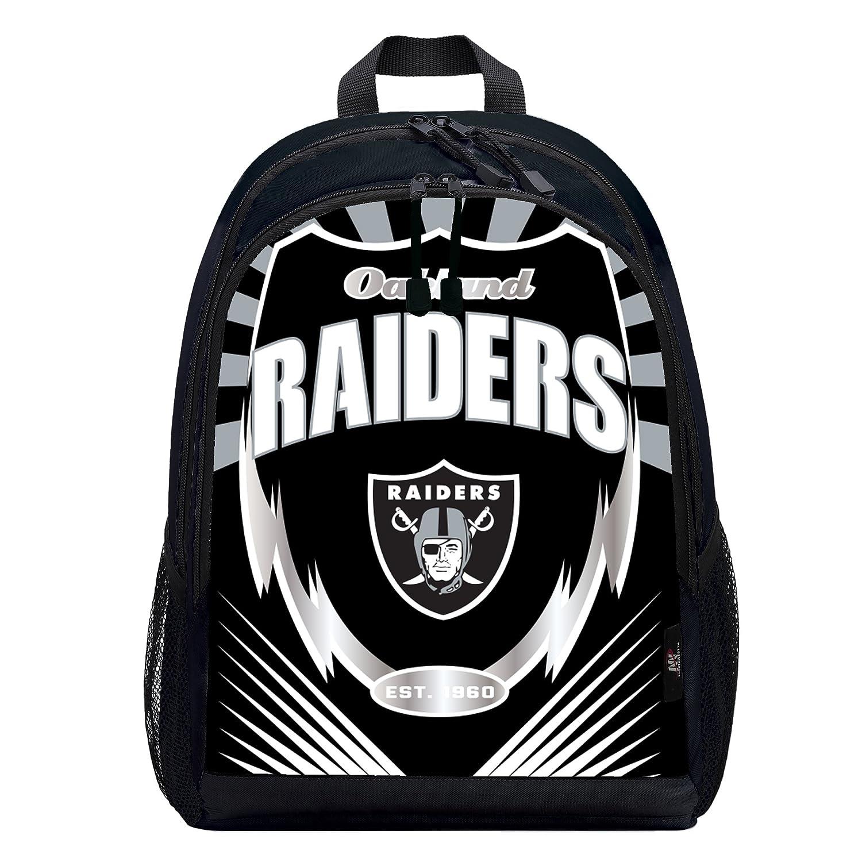 The Northwest会社Officially Licensed NFL Oakland Raiders Lightning Kidsスポーツバックパック、ブラック B07DGSZ937 Oakland Raiders Oakland Raiders