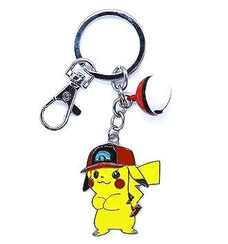 Anime Domain Llavero de Pokemon con Figura de Pikachu (F ...