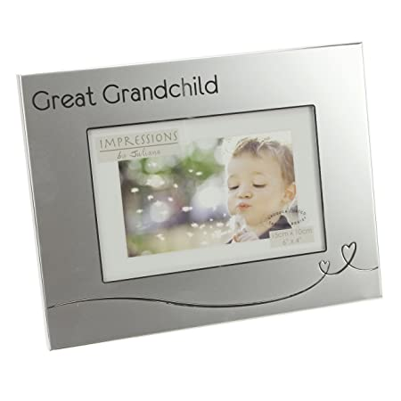 Great Grandchild Two Tone Silverplated 4\