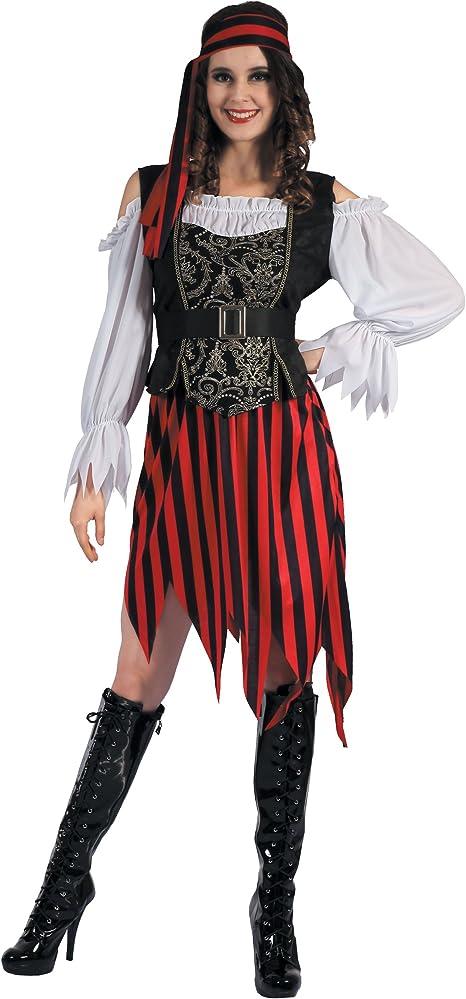 Generique - Disfraz de Pirata Gipsy Mujer L: Amazon.es: Juguetes y ...