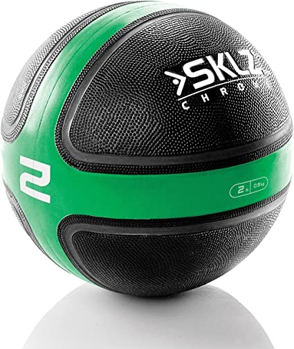 SKLZ Medicine Ball 8.5 - Balón Medicinal de Fitness y Ejercicio ...