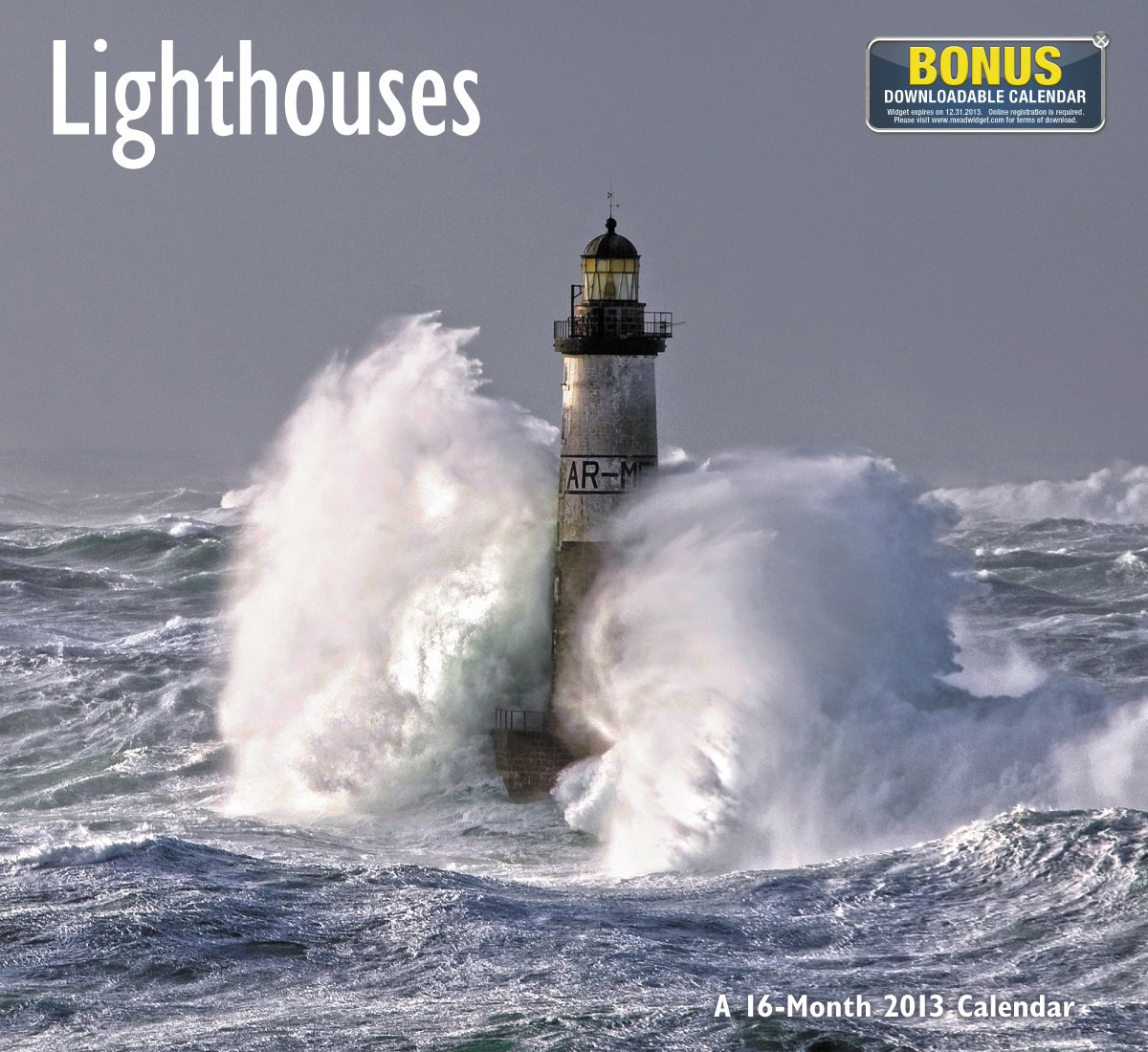 Lighthouses 2013 Calendar  Access Code For Downloadable Calendar