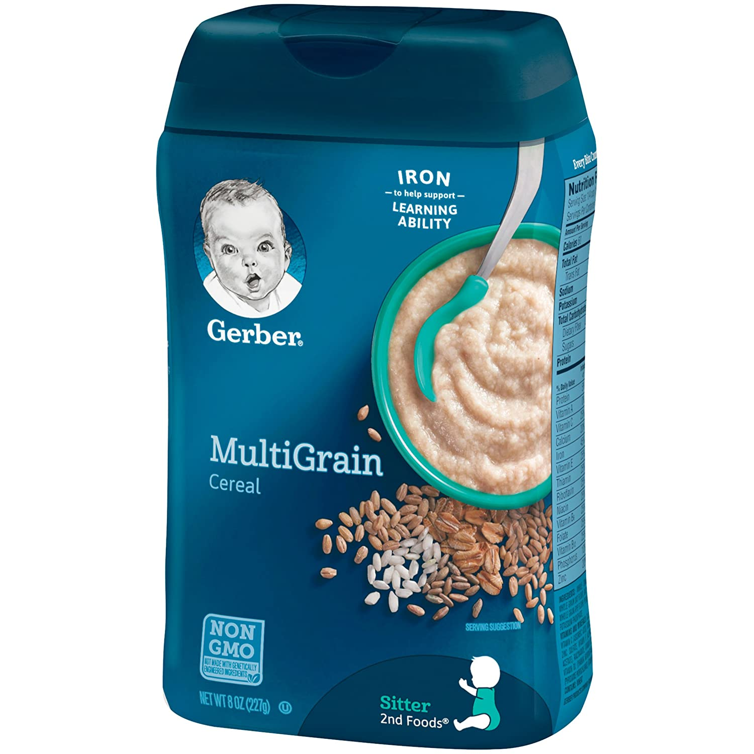 gerber cereal for 6 month old