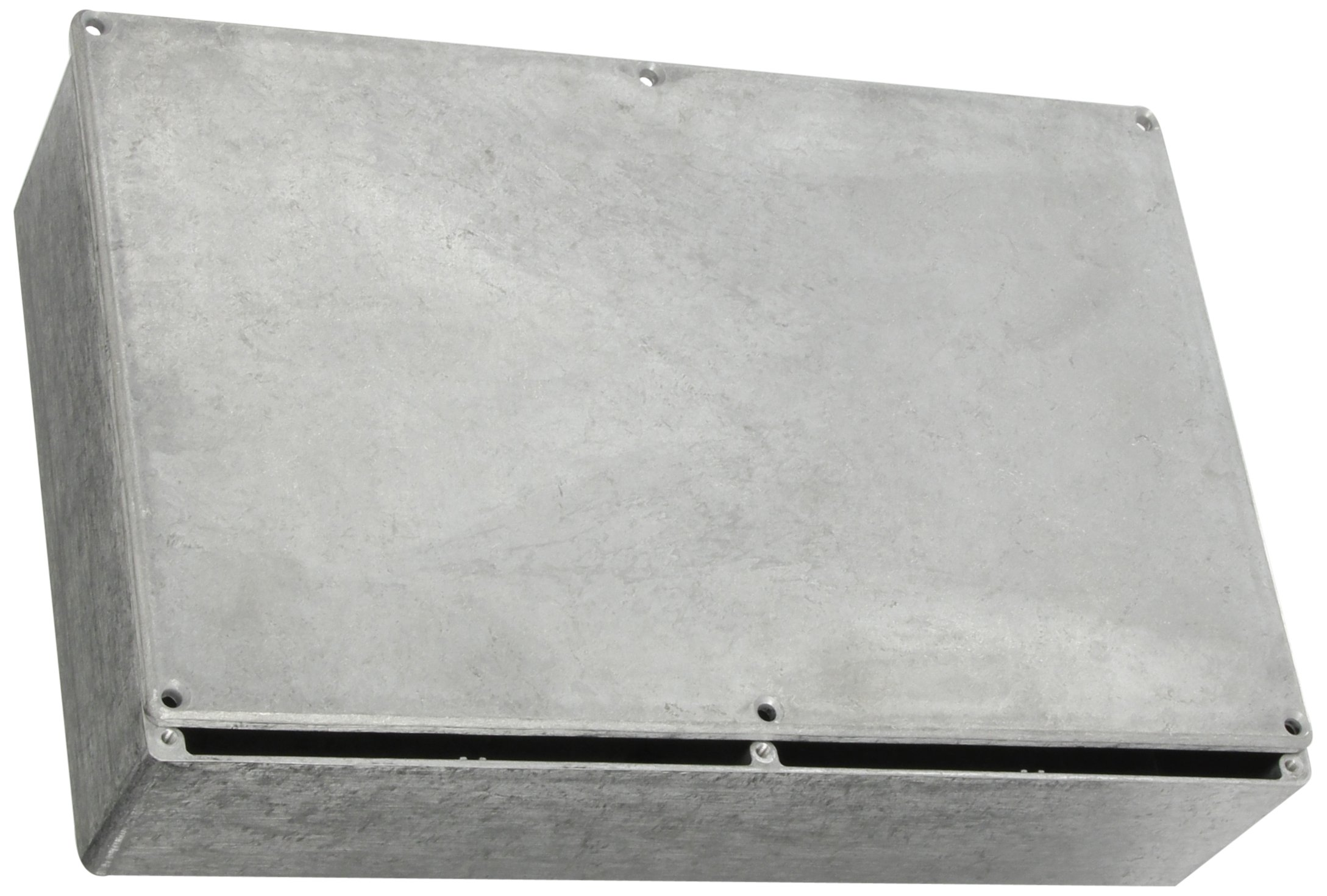BUD Industries CN-5714 Die Cast Aluminum Enclosure, 10-51/64'' Length x 6-7/8'' Width x 2-5/8'' Height, Natural Finish