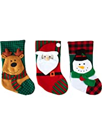 853d0372c Imperial Home 3 Pcs Set - Classic Christmas Stockings 18