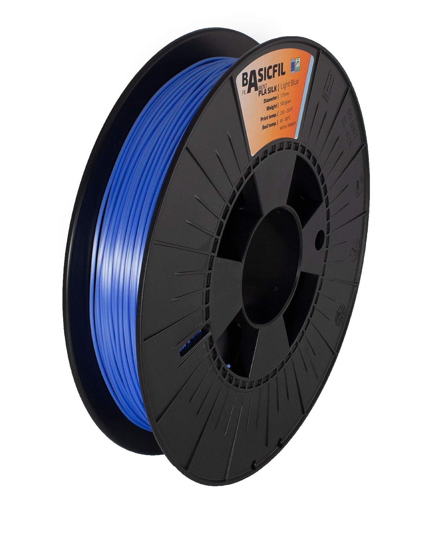 Argent BASICFIL PLA SILK  1.75mm 3D printing filament 500 gr