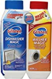 Glisten Dishwasher Magic AND Washer Magic, Value Pack, 12 Fl. Oz. bottle of each