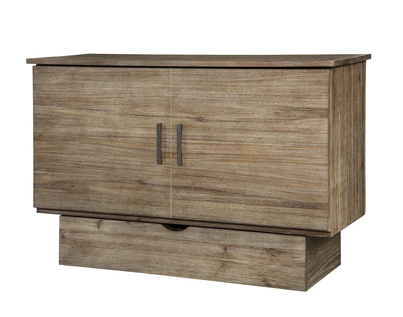 Arason Enterprises Inc. Sadie Grey Ash Cabinet with Pull-Out Queen-Size Bed by Arason Enterprises Inc.