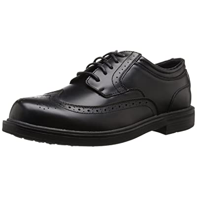 Deer Stags Mens Tribune S.U.P.R.O Sock Leather Wingtip Dress Casual Comfort Oxford