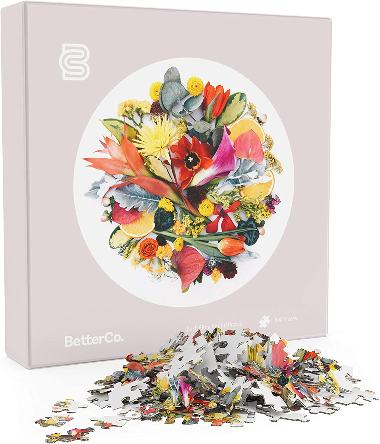 Challenge Yourself with These Pieces Puzzle for Adults Lush Flora Puzzle Difficult Jigsaw Puzzles Pieces and Kids Teens BetterCo