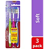 Colgate Zig Zag Toothbrush, Soft - 3 Pack