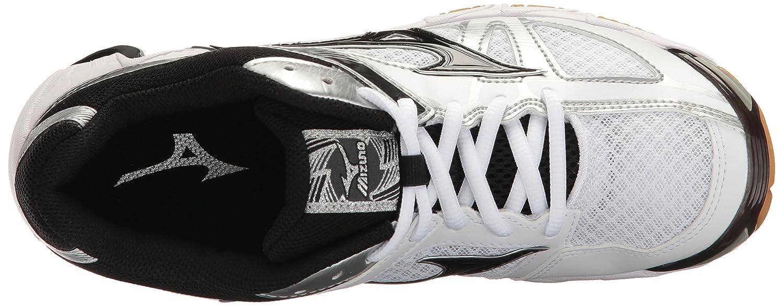 Mizuno Women's Wave Bolt 6 Volleyball-Shoes B01MSM64YU 7.5 B(M) US|White/Black