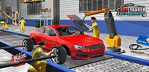 Sports Car Maker Factory 2018: Car Mechanic Simulator & Auto Builder Games by Wacky Studios -Parking, Racing & Talking 3D Games