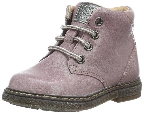 88e0d0e87db Geox B Glimmer C, Botines de Senderismo para Bebés, Rosa(DK Pink C8006), 27  EU: Amazon.es: Zapatos y complementos