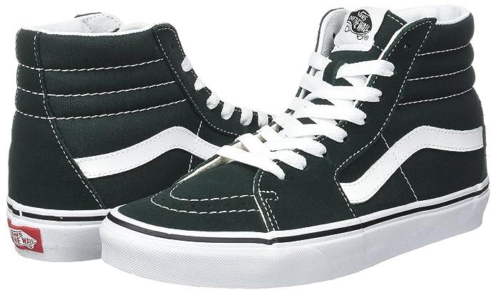 Amazon.com | Vans Sk8-hi Suede/Canvas, Unisex Adults Trainers | Fashion Sneakers