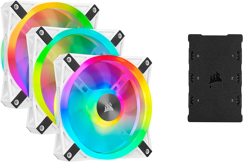 Corsair iCUE QL120 RGB, Ventilador LED RGB , 102 LED RGB ...