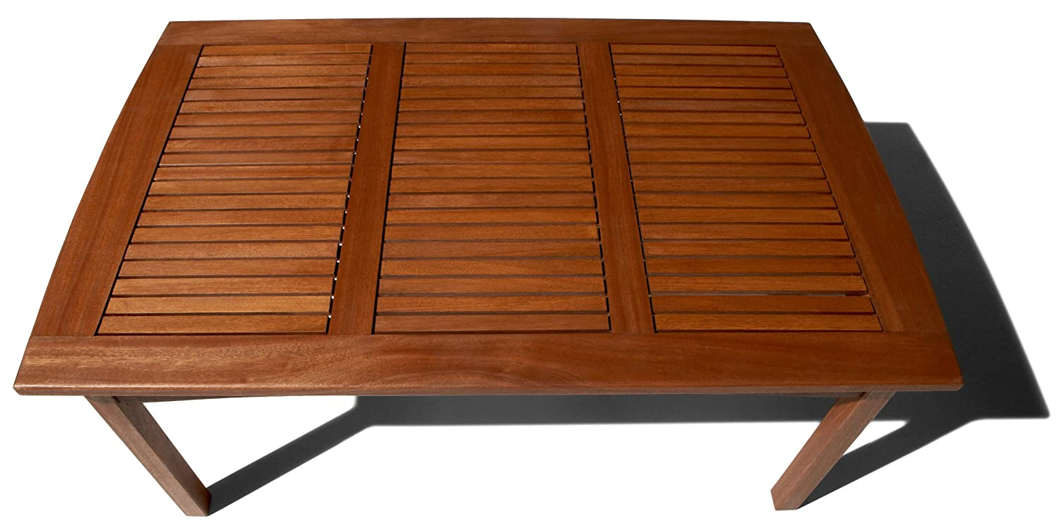 Amazon.com : Strathwood Gibranta All-Weather Hardwood Coffee Table : Patio  Furniture : Garden & Outdoor