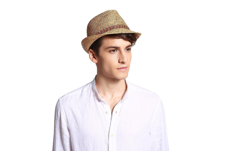 Deevoov Fashion Straw Sun Hat Beach Summer Hats (59cm c740bbf59ab3