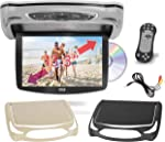 Car Roof Mount DVD Player Monitor 13.3 inch Vehicle Flip Down