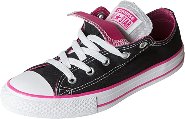 Converse Kids Chuck Taylor All Star Double Tongue Ox Black