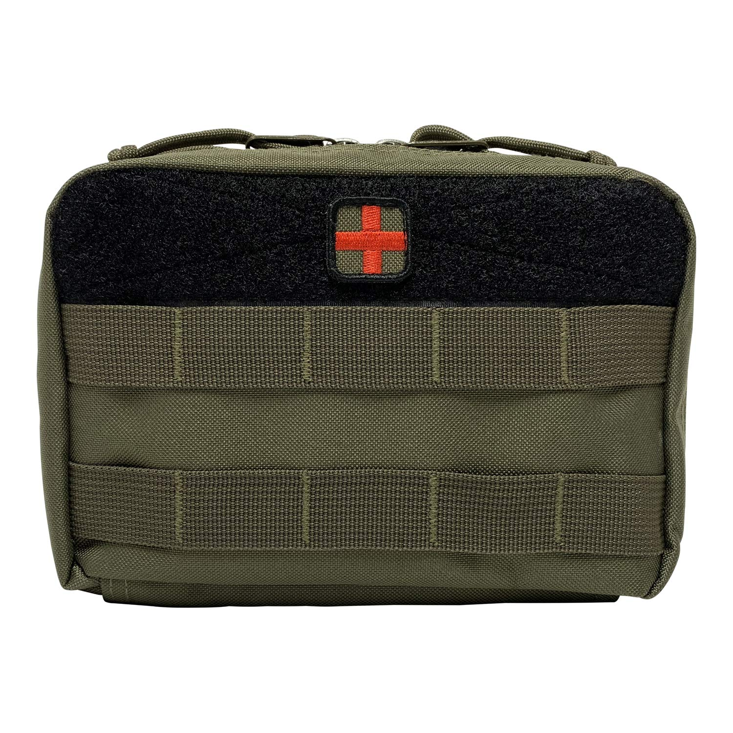 HSD Tactical Family First Aid Kit Admin EMT Medical IFAK Utility MOLLE Pouch (Ranger Green)