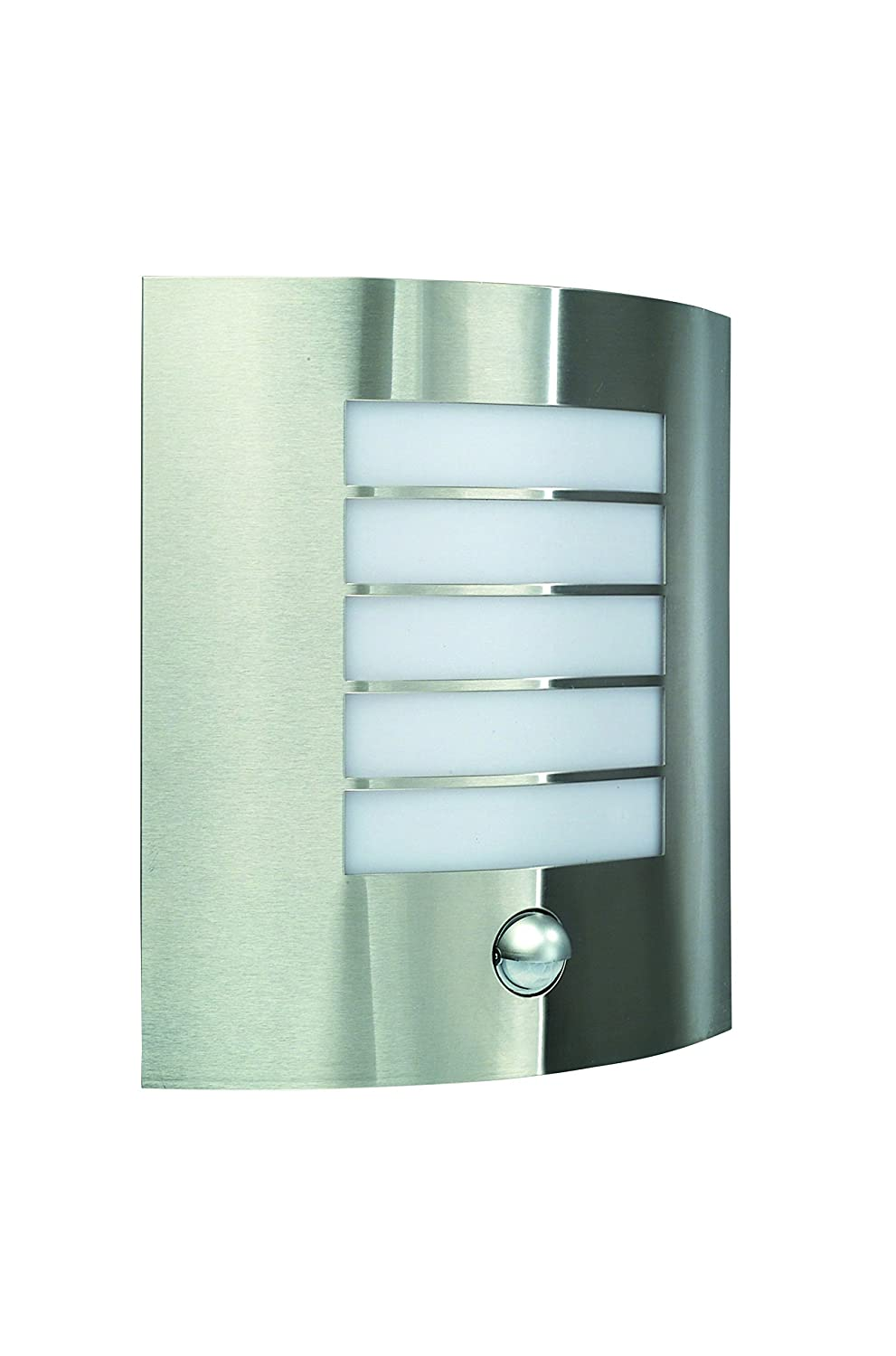Massive Oslo Outdoor Wall Light Stainless Steel (Requires 1 x 60 ...