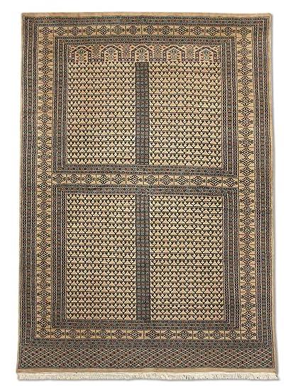 Amazon.com: Tradicional hecho a mano Hatchlu alfombra, lana ...
