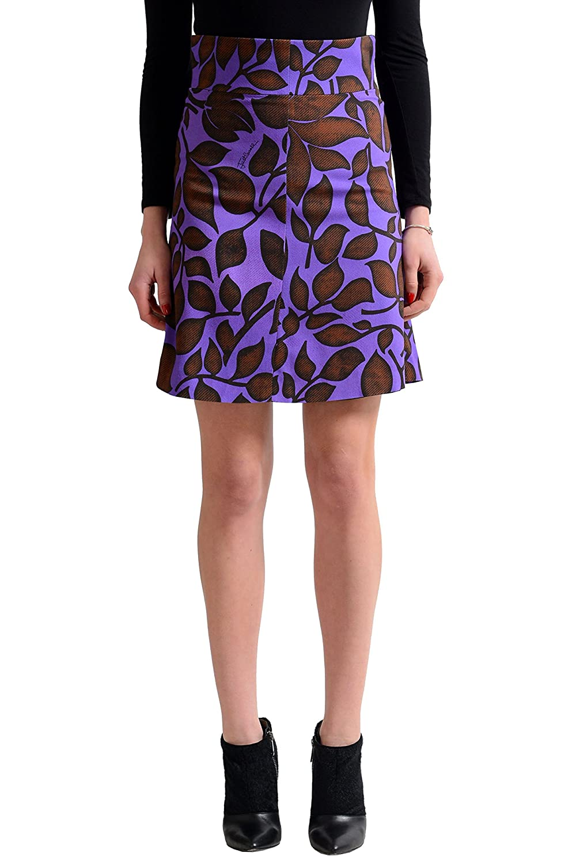 Just Cavalli Women's Multi-Color A-Line Skirt US S IT 40