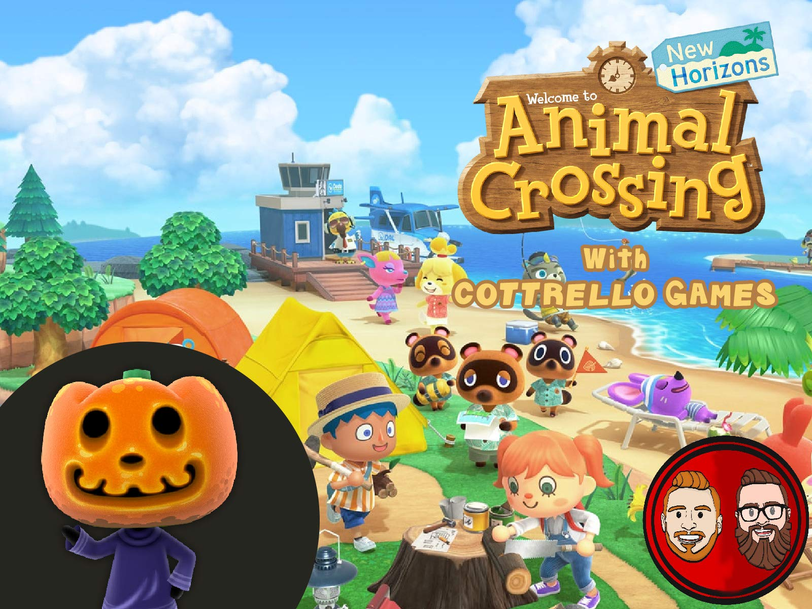 Clip: Animal Crossing New Horizons with Cottrello Games on Amazon Prime Video UK
