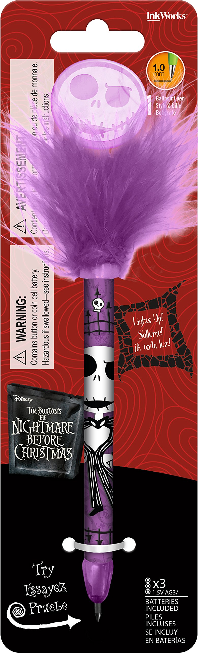 Inkworks Nightmare Before Christmas - Jack - Wiggle Pen...