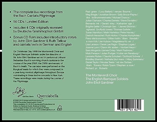 Gardiner bach : English baroque soloists monteverdi choir bach gardiner