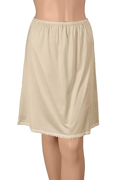 Size Large 30 Inches #11-711 Vanity Fair Ivory A-line Nylon Half Slip