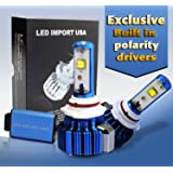 LED import USA led CREE XLamp MK-R Headlight Bulbs Kit H11 H9 H8 6000k 60w 7000LM