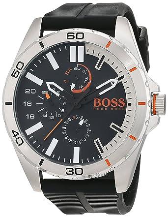 Hugo Boss Orange 1513290 - Reloj de pulsera analógico para hombre (correa de silicona,
