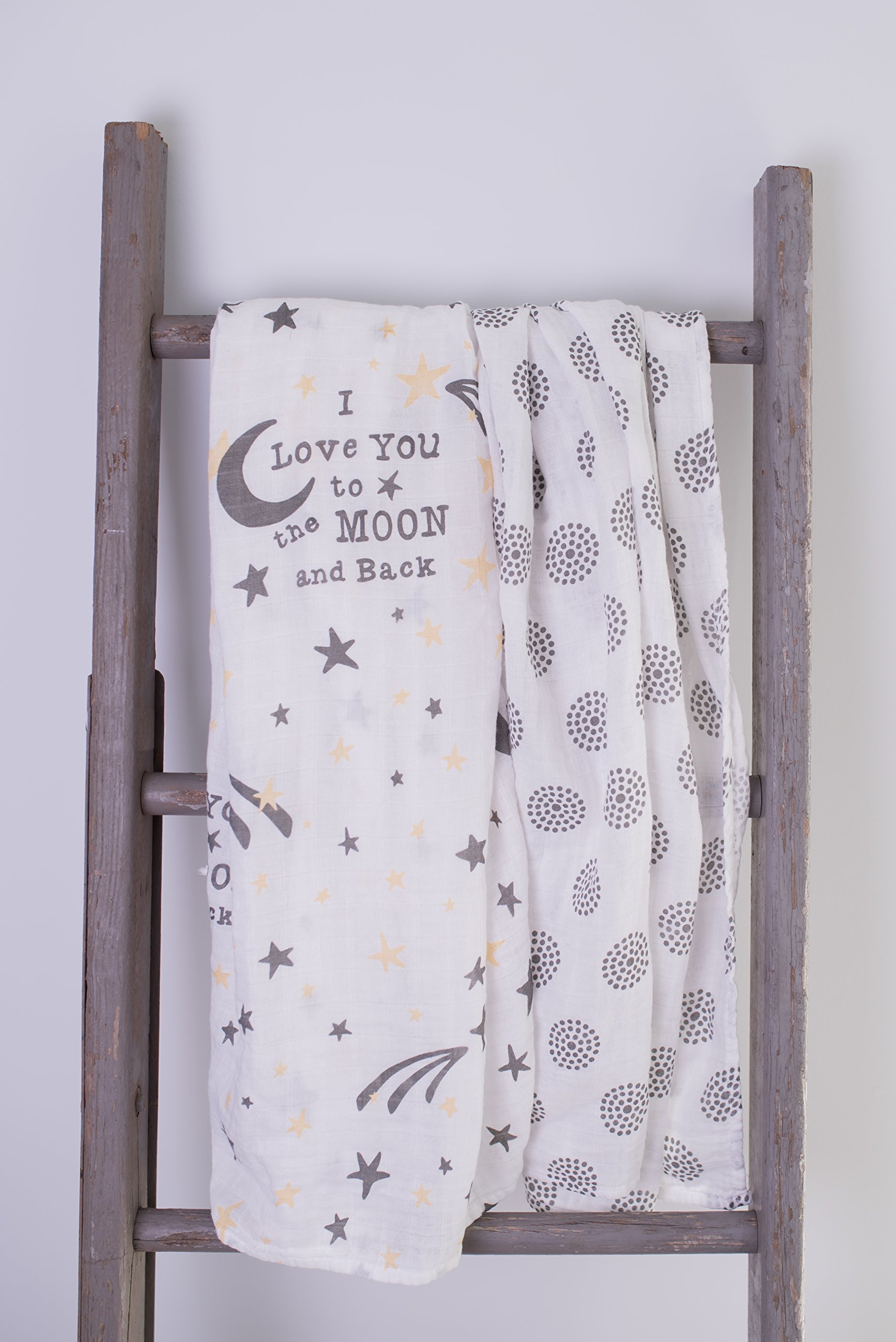 baby blankets (2 Pack, Bamboo/Cotton)