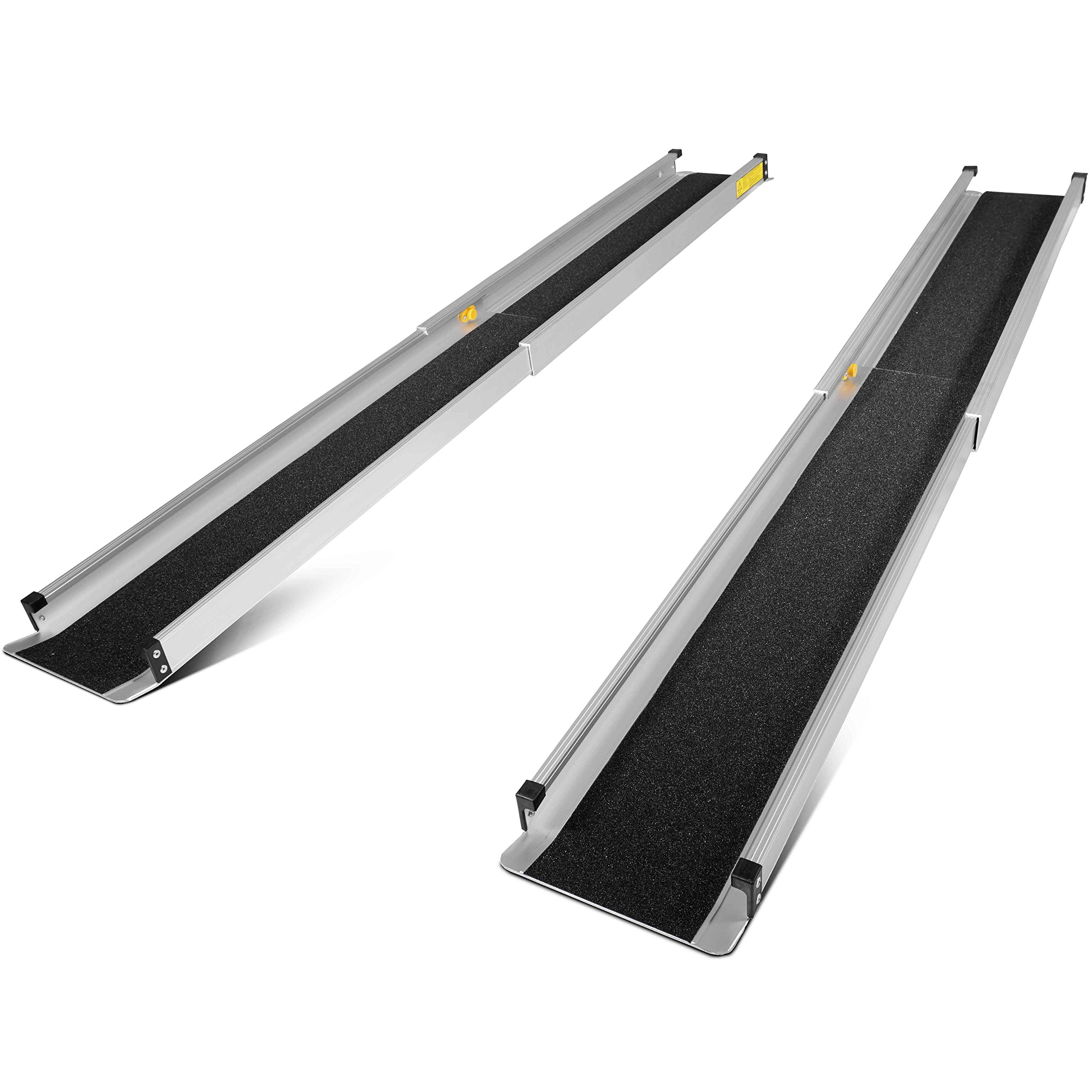 Titan 3'-5' Telescoping Portable Adjustable Aluminum Loading Wheelchair Ramp